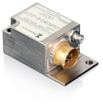 PE charge amplifier for airborne applications, biased and unbiased outputs, gain range: 0.1 to 1.0 mV/pC, upper cutoff freq.: 20Hz