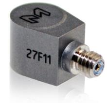 10 mV/g, ±500 g, TEDS, -67°F to +257°F, not isolated, adhesive mount, side connector, 0.8 grams
