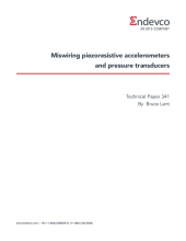 Miswiring piezoresistive accelerometers and pressure transducers